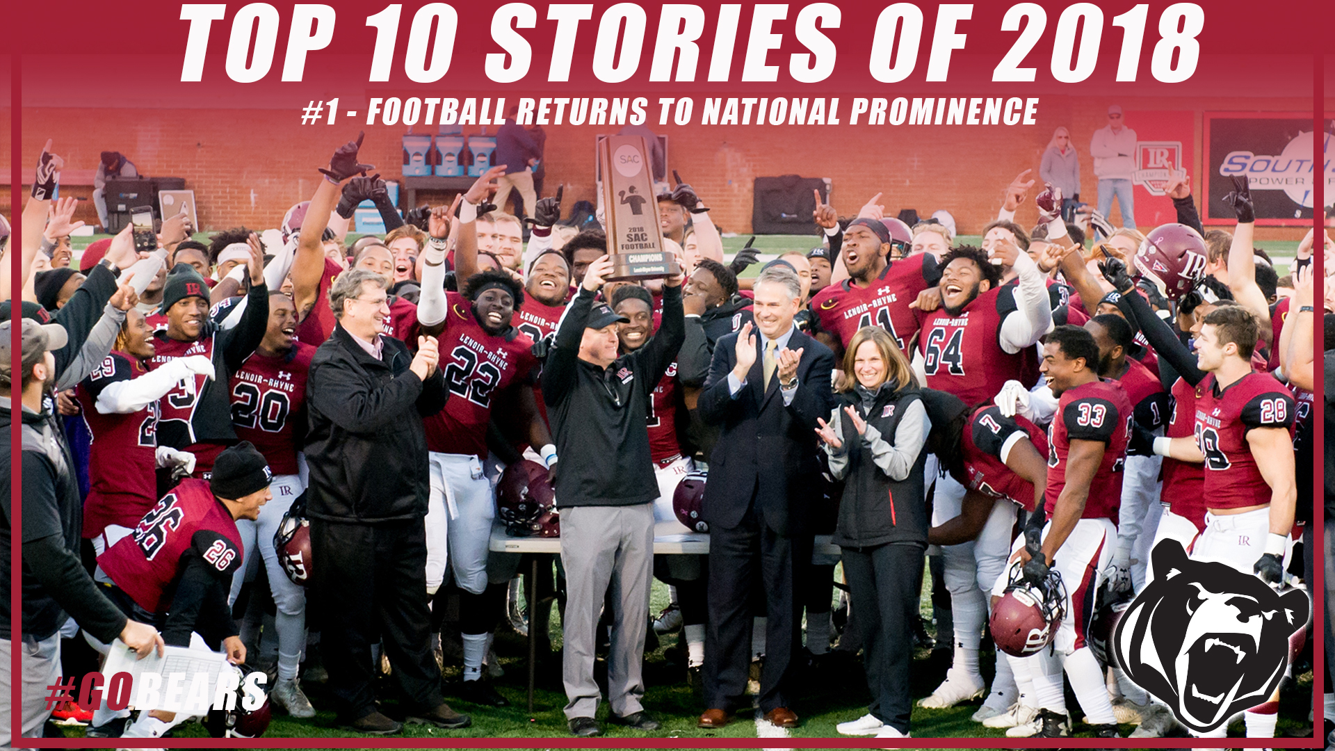 Top 10 Stories of 2018: #1 - Football Returns to National Prominence
